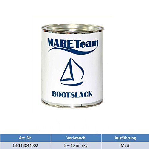 Mareteam Bootslack Klarlack außen 750 ml Profiausführung Holzlack matt