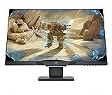HP 27mx Monitor Gaming TN, Schermo 27 Pollici FHD, Risoluzione 1920 x 1080, Micro-Edge, Tecnologia AMD FreeSync, Tempo di Risposta 1 ms, Frequenza 144 Hz, Regolabile in Altezza, Pivoting 90°, Nero