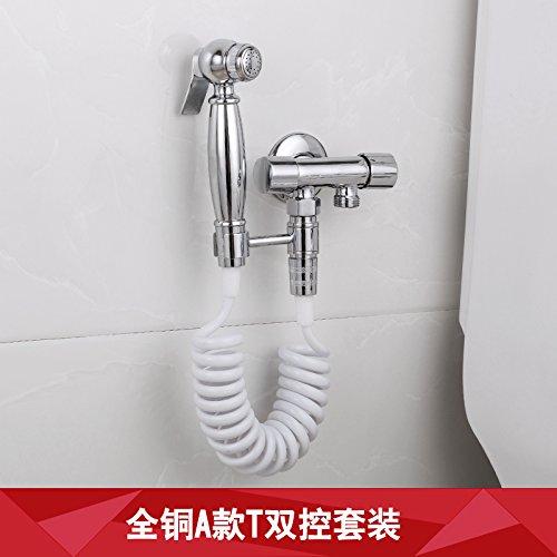 GFEI angle de cuivres / soupape rappel, toilettes pistolet d'arrosage ou robinet, double emploi,b5