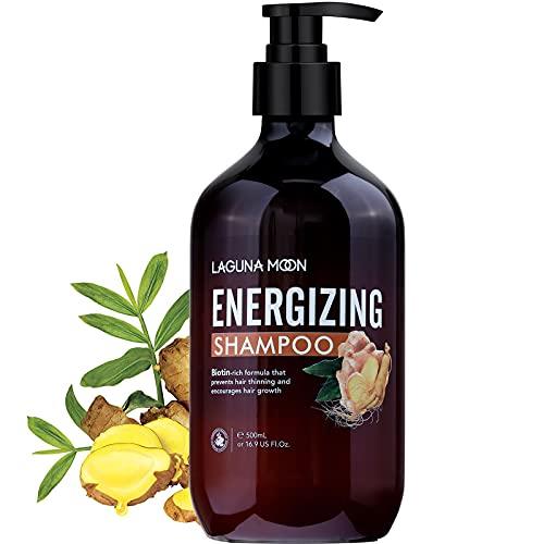 Lagunamoon shampoo energizzante per capelli diradati e perdita di capelli, shampoo per la crescita dei capelli...