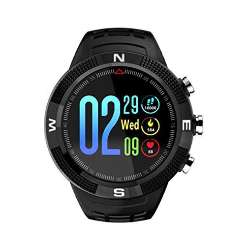BlackUdragon F18 Smartwatch sport ronde wijzerplaat IP68 waterdichte oproep bericht herinnering stappenteller slaap monitoring GPS Smart horloge