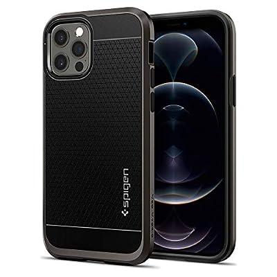 Spigen Neo Hybrid Designed for iPhone 12 Case (2020) / Designed for iPhone 12 Pro Case (2020) - Gunmetal