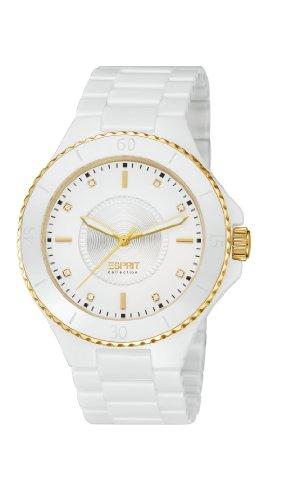Esprit Damen-Armbanduhr EIRENE Analog Quarz Keramik EL101322F17