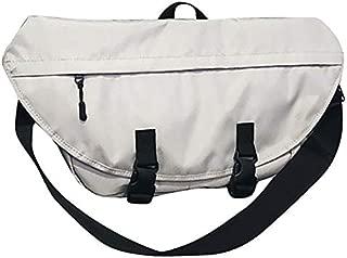 SODIAL Street Fashion Shoulder Messenger Bag Men's Sports Cycling Bag Large Capacity Leisure Chest Bag Women Postman Bag Men Black