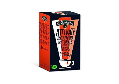 Sir Winston Tea Attivate' Nero Cacao Miele Rfa - 110 g