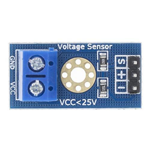 YAZHI-MILA Water flow sensor Smart Electronics DC 0-25V Standard Voltage Sensor Module Test Electronic Bricks Smart Robot For Diy Kit Sensor wind speed