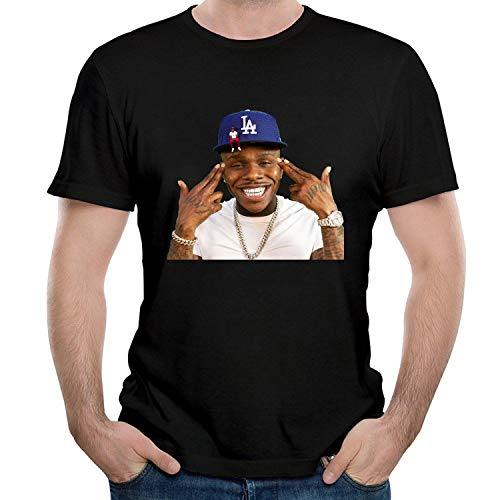 WEIQIQQ Hombre Dababy Baby On Baby Album Gift Short Sleeved Camiseta/T-Shirt