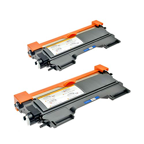 Logic-Seek 2 Toner kompatibel für TN-2220 TN-2010 Brother MFC-7360N HL-2240DR L HL-2250DNR HL-2270DW HL-2130 DCP-7055 DCP-7057 HL-2132 HL-2130 R HL-2132 R - XXL Füllmenge, Schwarz je 5.200 Seiten