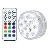 Iluminación para el hogar, Modo de luz de Acuario de 24 Teclas, para Aguas Termales Sombrillas de Patio Carpas de jardinería Céspedes de Patio Baños Marquesinas