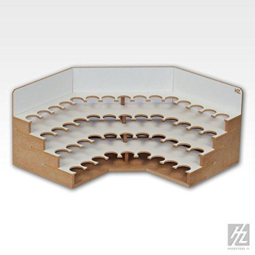 Hobbyzone Eck Farbhalter / Farbrack Modul 26mm (Corner Paints Module 26mm) MWS HZ-OM06S