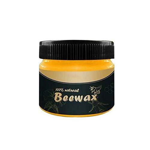 Cera para condimentos de madera: cera de cera de abejas tradicional para...