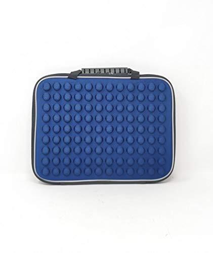 Funda para Tablet con Asas Color Azul, Medidas 27 X 21 CM, DISEÑO Muy Atractivo Y Muy Comodo.