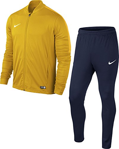 NIKE Academy16 Yth Knt Tracksuit 2, Chandal Infantil, Amarillo (University Gold/Obsidian/White), talla del fabricante: M(137-147)