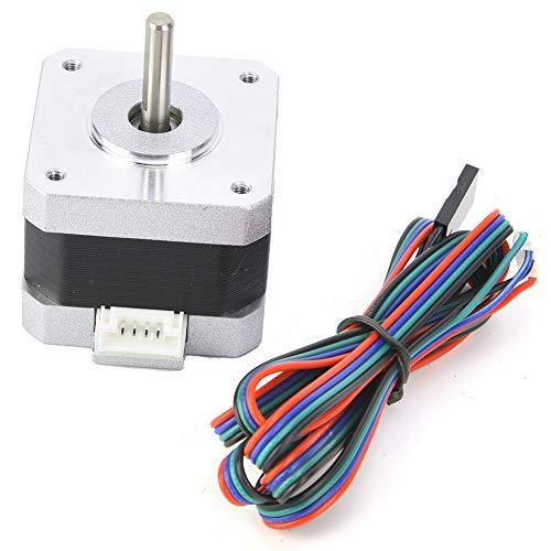 Nema 17 Stepper Motor,DC4.0V 1.2A 1.8° Nema 17 Bipolar Stepper Motor 320mN.m/45oz.in 3D Printer Motor for 3D Printer 34mm Height