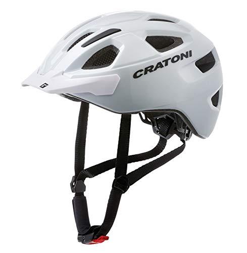 Cratoni C-Swift Allroundhelm Fahrradhelm Inlinerhelm Radhelm, Größe Uni (White)