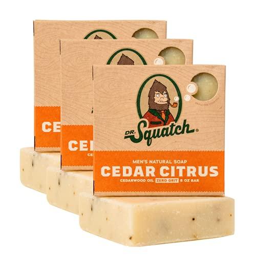 Dr. Squatch Men's Soap 3-Pack Bundle