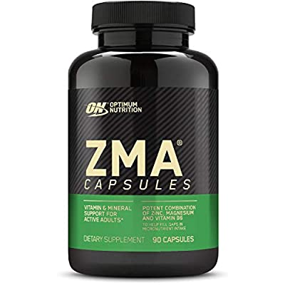 OPTIMUM NUTRITION ZMA Muscle Recovery and Endurance Supplement for Men and Women