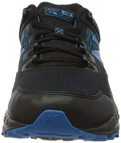 New Balance 410v6 Trail, Zapatillas Hombre, Black, 44.5 EU