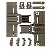 10 Packs Dishwasher Top Rack Adjuster Parts W10350376(2) W10195840(2) W10195839(2) W10250160(2) W10508950(2) UPGRADED for kitchenaid,0.9' Diameter Wheel, kitchen Aid whirlpool kenmore Dishwasher