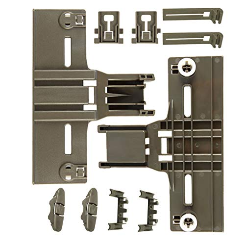 10 Packs UPGRADED W10350376(2) W10195840(2) W10195839(2) W10250160(2) W10508950(2) Dishwasher Top Rack Parts for Kenmore elite,W/ 0.9 In Diameter Wheel,kitchen Aid whirlpool kenmore Dishwasher