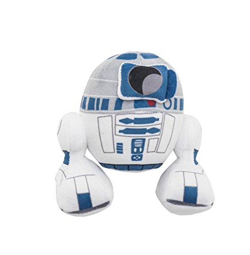 Joy Toy 1400611 Star Wars - R2D2 en Steam Velboa Felpa, 17 cm