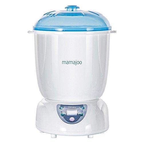 Mamajoo MMJ2025 5 in 1 Digitaler Dampfsterilisator,Trockner,Babykostwärmer,Babyflaschenwärmer,Dampfgarer