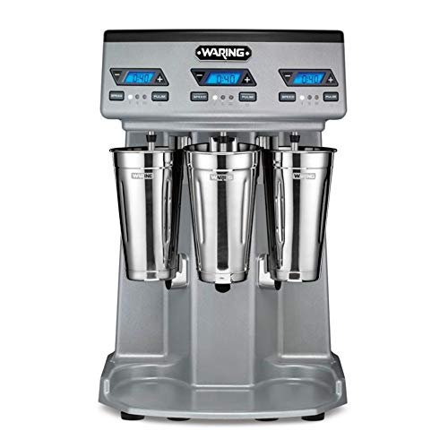 Waring WDM360TX - Commercial Drink Mixer - Double Spindle - Fully Automatic - with Timer