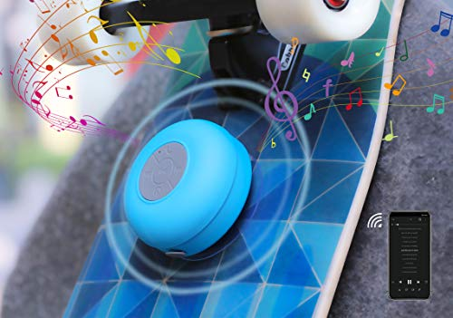SKATEENA Music Speaker for Skateboard Longboard Accessories,Customize Long Skate Board shortboard,Skateboarding Equipment