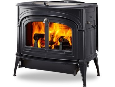 Vermont Castings ENCORE 2N1 WOOD STOVE (Matte Black)