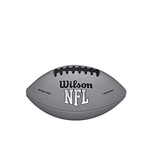 Wilson NFL MVP Peewee Football - Gray Version