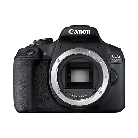 Canon EOS 2000D DSLR Camera Body (International Model)