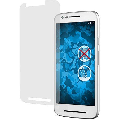 PhoneNatic 6er-Pack Bildschirmschutzfolien matt kompatibel mit Lenovo Moto E3