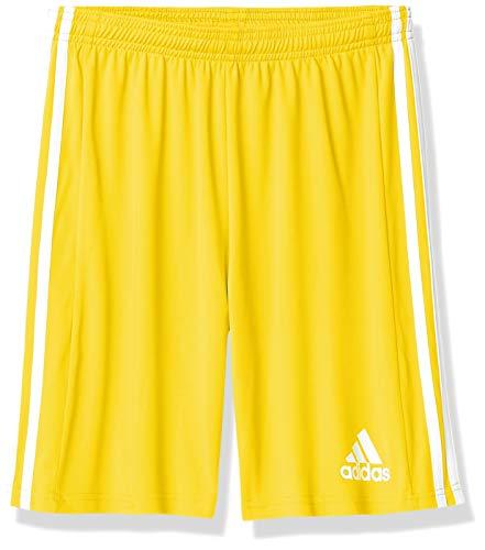 adidas boys Squad 21 Shorts Team Yellow/White Large