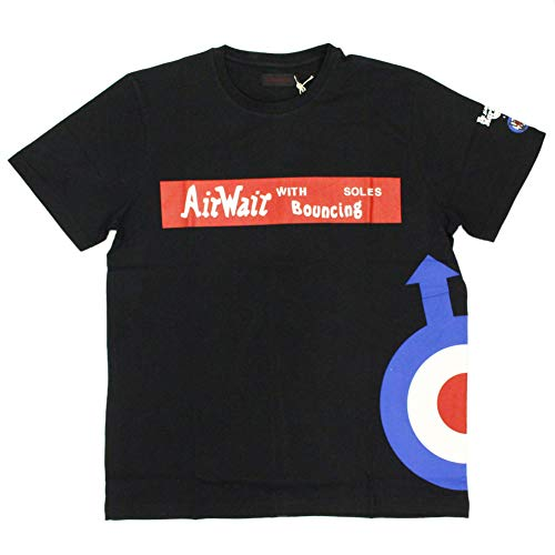 Dr. Martens The Who Logo tee Men´s T-Shirt Black, tamaño:M
