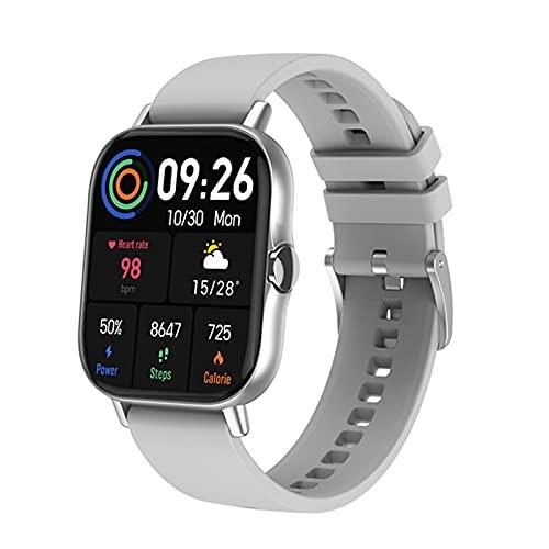 YZK Bluetooth Llamar a Smart Watch 1.78 Pulgadas Pantalla Monitor de Ritmo cardíaco Fitness Tracker DT94 SmartWatch,B