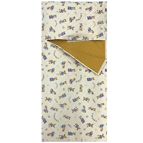 Panini Tessuti - Schlafsack Kindergarten für Kleinkinder, Zuhause, Bettwäsche für Kinderbett - 138 x 68 cm - design für Kinder, kinderschlafsack baumwolle 100%, Made in Italy