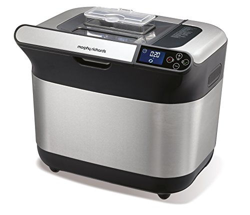 Morphy Richards Machine à pain Premium Plus argenté