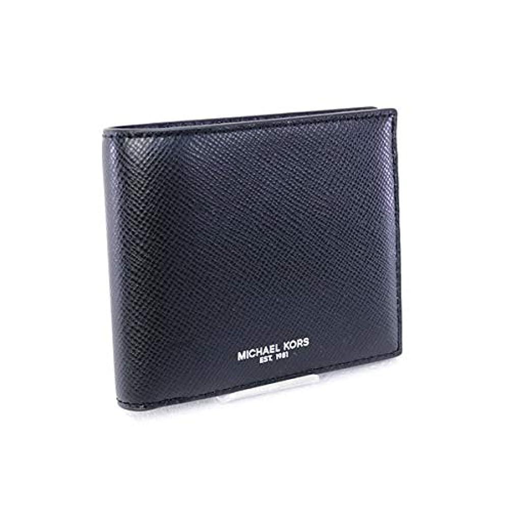 ステレオタイプキリスト応じる[マイケル?コース] メンズ 財布 HARRISON BILLFOLD 折財布 ブラック (39F5LHRF1L BLACK) [並行輸入品]