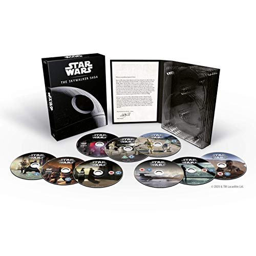 Star Wars Complete Saga DVD [UK Import]