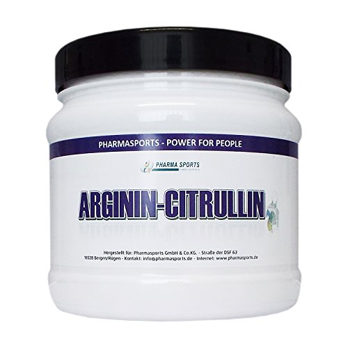 L-ARGININ-CITRULLIN 550,00 mg mg Hochdosiert 240 Kapseln - 2 bis 4 Monatskur deutsches Qualitätsprodukt