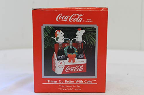 Coca-Cola Décoration « Things Go Better With Coke ».