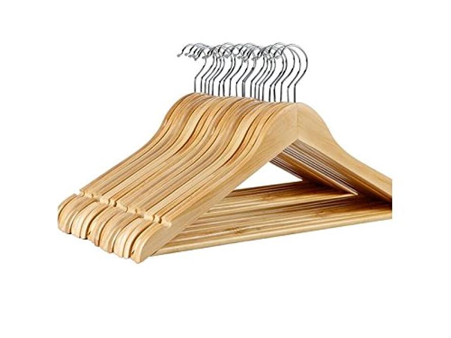 認証さわやか学習Oside 5 PCS木製の服のハンガーコートハンガーラウンダーショルダースイートハンガークローゼットコレクション
