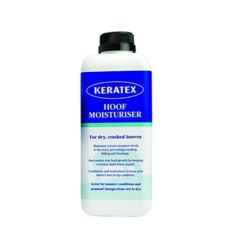 PEZUÑA Crema Hidratante, Keratex, Casco de Caballo Cuidado, 1.0l
