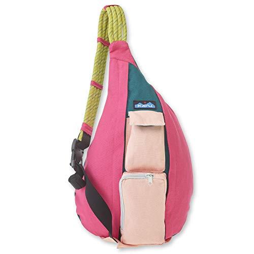 KAVU Original Rope Bag Cotton Crossbody Sling - Fruit Salad