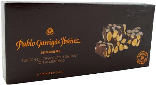Pablo Garrigós Ibáñez Barra de Turrón de Chocolate Fondant con Almendras - 300 gr