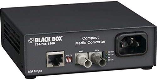 Black Box FST ETH Sale item MED Conv MM 100-Mbps Large discharge sale FBR COP to 850nm