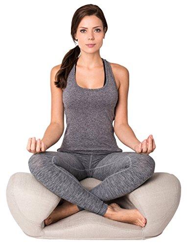 Alexia Meditation Seat Ergonimically Correct for The Human Physiology Zen Yoga Ergonomic Chair Foam...
