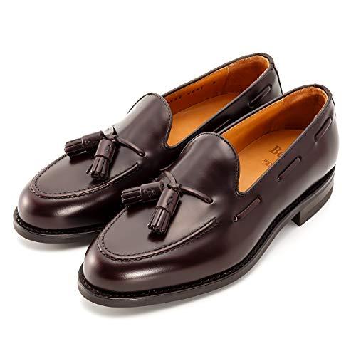[バーウィック] タッセル ローファー 紳士靴 革靴 メンズ ダークブラウン 8491 ダイナイトソール ROISレザ...