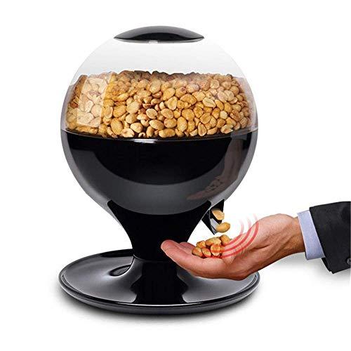 FFAN Máquina de Dulces activada por Movimiento, Mini dispensador automático de bocadillos de Dulces sin Contacto para pequeñas Bolas de Chicle, nueces, bocadillos, Bote de golosinas de fácil llenado