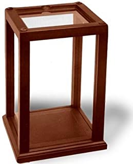 National Artcraft Wood-Trimmed Display Case Holds and Protects Collectibles and Dolls